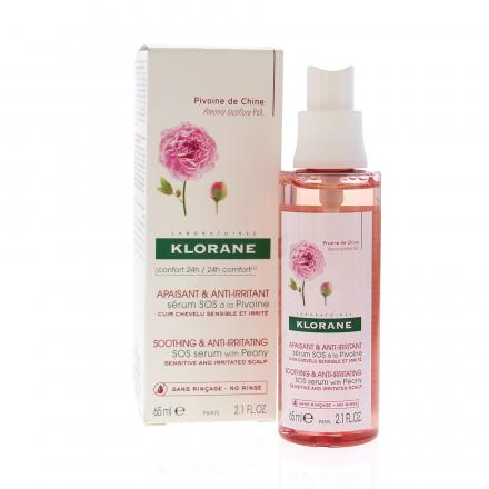 KLORANE Sérum SOS à la pivoine flacon 65ml - Illustration n°2