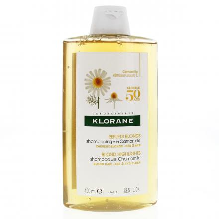 KLORANE Shampooing à la Camomille flacon 400ml - Illustration n°1