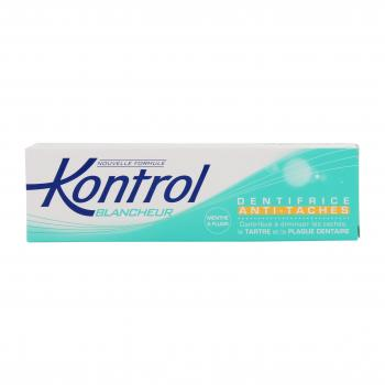 KONTROL Blancheur dentifrice anti-taches tube 75ml