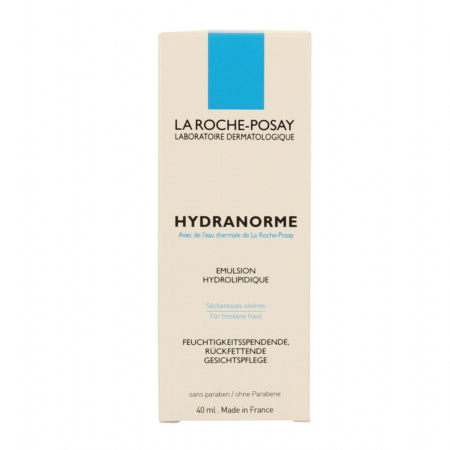 la roche posay hydranorme tube 40ml la roche posay parapharmacie en ligne prado mermoz. Black Bedroom Furniture Sets. Home Design Ideas