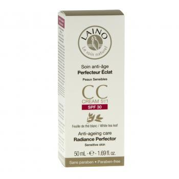 LAINO CC Cream Soin anti-âge Perfecteur éclat SFP30 tube 50ml - Illustration n°1