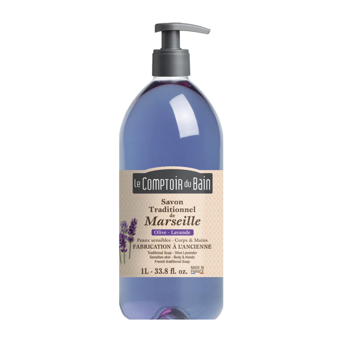 Le comptoir du bain savon liquide de marseille olive - Savon liquide de marseille le comptoir du bain ...