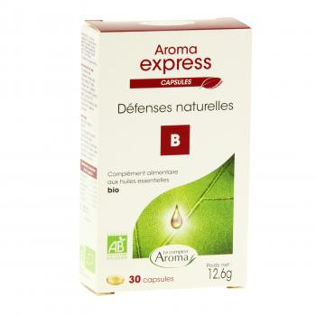LE COMPTOIR AROMA Aroma express défenses naturelles 30 capsules - Illustration n°1