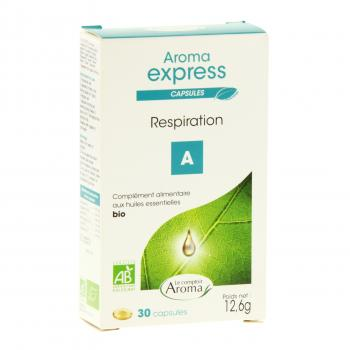 LE COMPTOIR AROMA Aroma express respiration 30 capsules