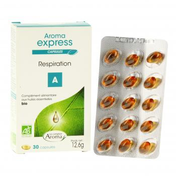 LE COMPTOIR AROMA Aroma express respiration 30 capsules - Illustration n°2