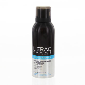 LIERAC Homme mousse à raser hydratante anti-irritations spray 150ml
