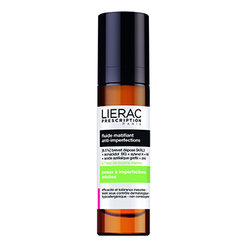 LIERAC Prescription fluide matifiant anti-imperfections flacon 50ml