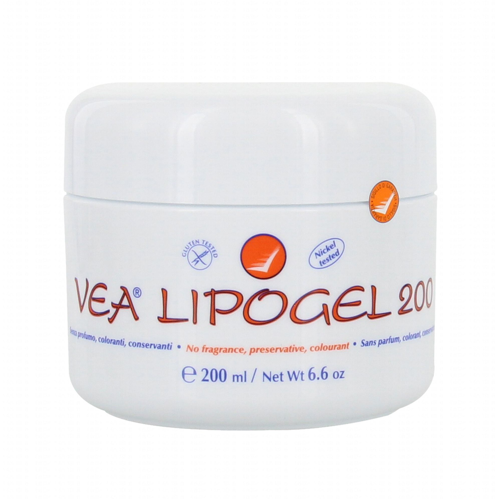 VEA Lipogel crème pot 200ml - Parapharmacie en ligne