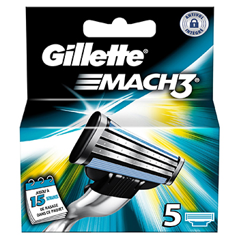 GILLETTE Mach 3 recharges