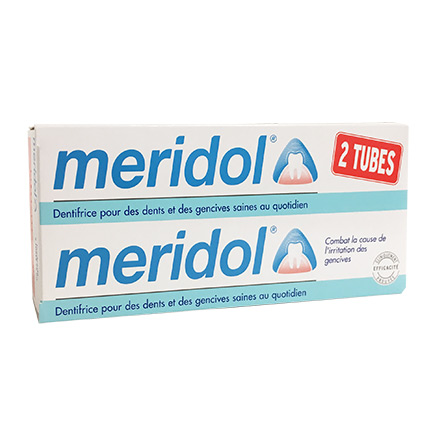 MERIDOL Dentifrice (lot de 2 tubes 75ml)