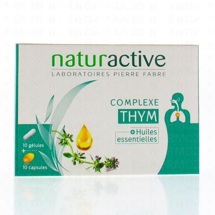 NATURACTIVE Complexe thym + huiles essentielles - Illustration n°1