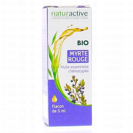 NATURACTIVE Huile essentielle de myrte rouge bio flacon 5ml - Illustration n°1