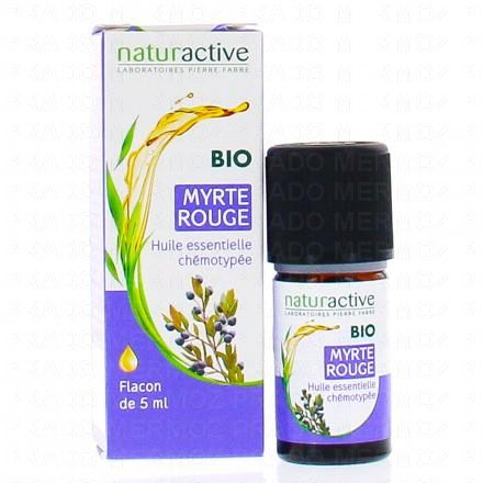 NATURACTIVE Huile essentielle de myrte rouge bio flacon 5ml - Illustration n°2