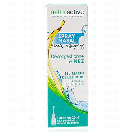 NATURACTIVE Spray nasal phytaroma flacon 20ml - Illustration n°1