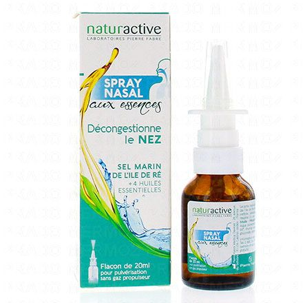 NATURACTIVE Spray nasal phytaroma flacon 20ml - Illustration n°2