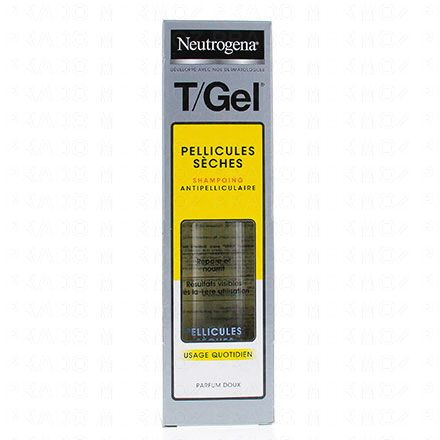 NEUTROGENA T gel shampooing cheveux normaux à secs flacon 250ml - Illustration n°1