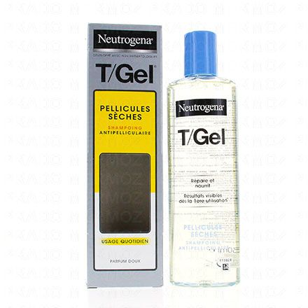 NEUTROGENA T gel shampooing cheveux normaux à secs flacon 250ml - Illustration n°2