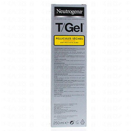 NEUTROGENA T gel shampooing cheveux normaux à secs flacon 250ml - Illustration n°3