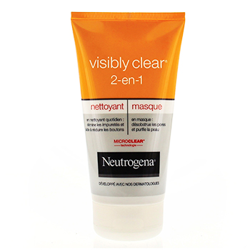 NEUTROGENA Visibly Clear 2-en-1 nettoyant & masque