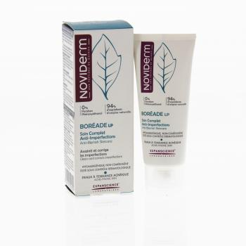 NOVIDERM Boréade soin complet anti-imperfections tube 30ml - Illustration n°1