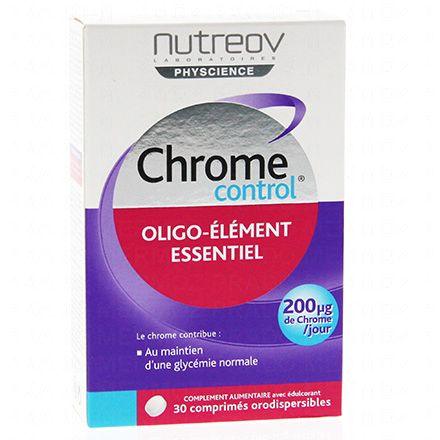 NUTREOV Chrome Control oligo-élément essentiel - Illustration n°1
