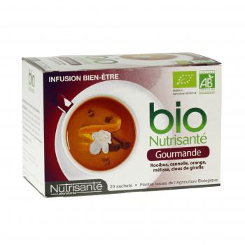 NUTRISANTÉ Infusion bio gourmande 20 sachet - Illustration n°1