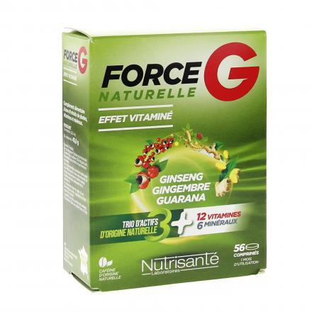 NUTRISANTE Force G Naturelle 56 comprimés - Illustration n°1