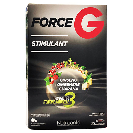 NUTRISANTE Force G Stimulant 10 ampoules - Illustration n°1