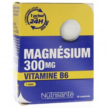 NUTRISANTE Magnésium 300mg + vitamine B6 - Illustration n°1