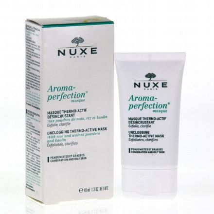 NUXE Aroma perfection masque thermo actif désincrustant tube 40ml - Illustration n°2