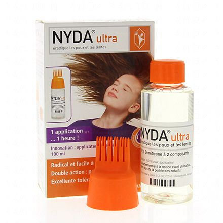 NYDA Ultra solution anti-poux