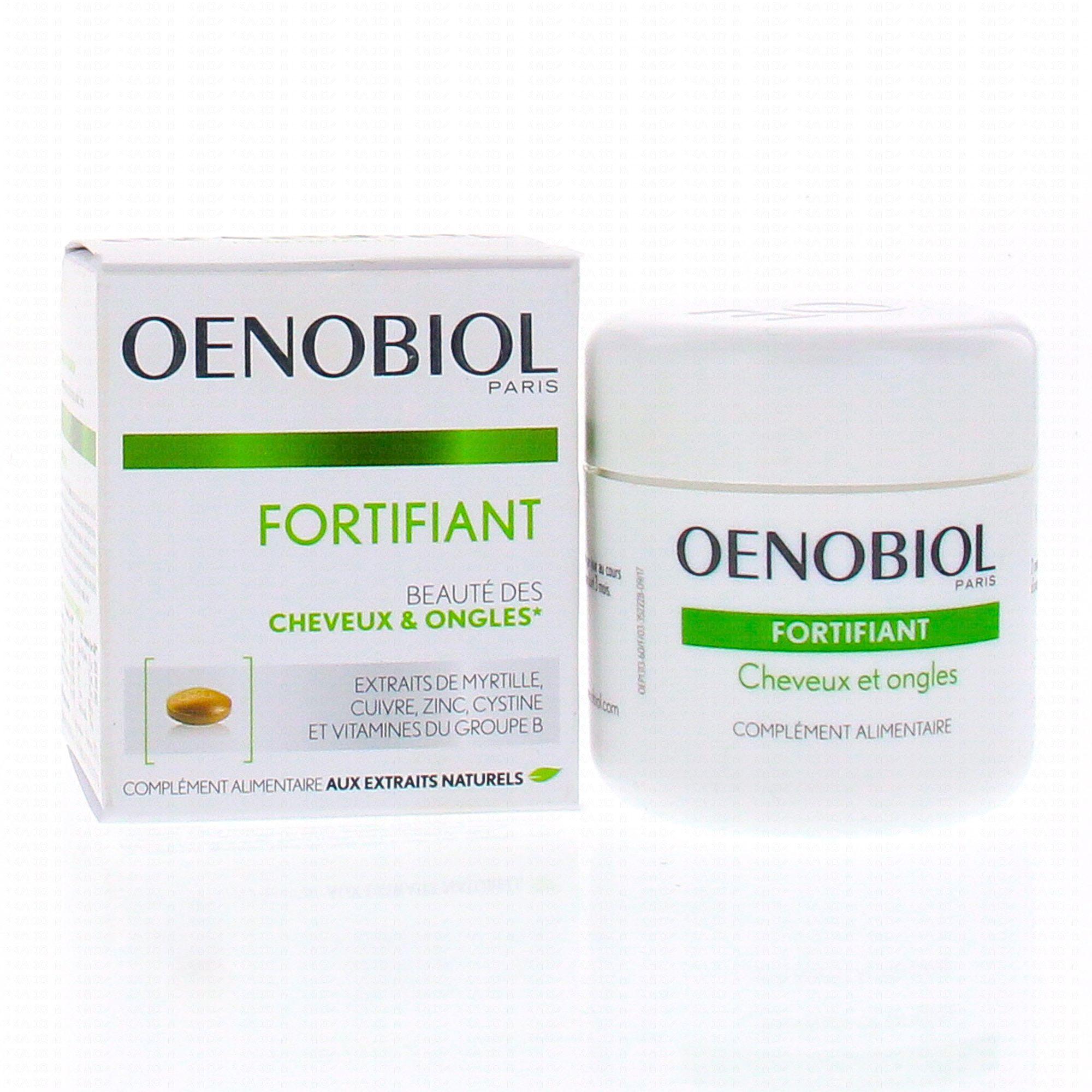 Oenobiol Fortifiant Cheveux Et Ongles 60 Comprimes Parapharmacie