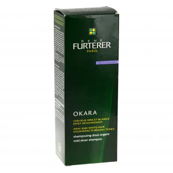 RENÉ FURTERER Okara shampooing doux argent tube 200ml - Illustration n°1