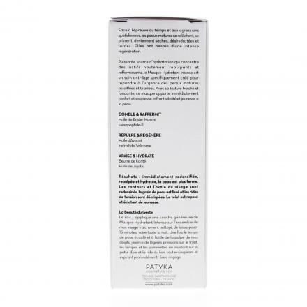 PATYKA  Masque hydratant intense flacon pompe 50ml - Illustration n°2