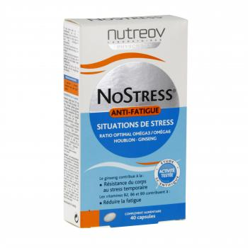 NUTREOV Nostress anti-fatigue 40 capsules - Illustration n°1