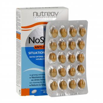 NUTREOV Nostress anti-fatigue 40 capsules - Illustration n°2