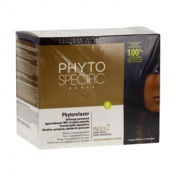 PHYTO Specific phytorelaxer index 2 cheveux normaux à epais coffret 5 produits - Illustration n°1