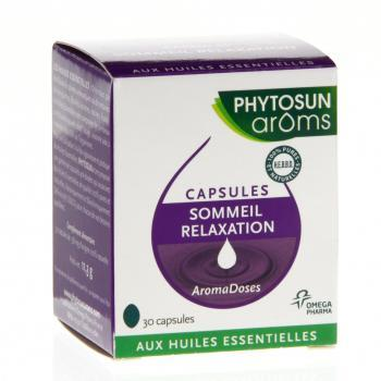 PHYTOSUN Arôms AromaDoses Sommeil Relaxation boîte 30 capsules