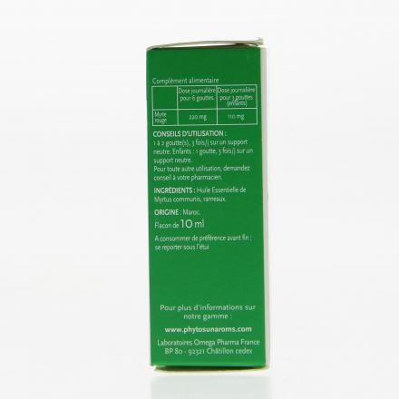 PHYTOSUN Arôms Myrte Rouge flacon 10ml - Illustration n°3