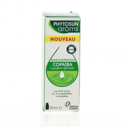 PHYTOSUN Arôms copaïba flacon 10ml - Illustration n°1