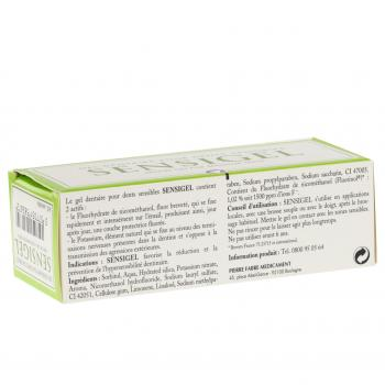 Sensigel gel dentaire dents sensibles tube de 50 ml - Illustration n°3