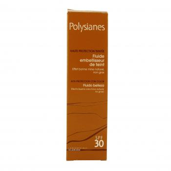 POLYSIANES Fluide embellisseur de teint SPF30 tube 40ml - Illustration n°2