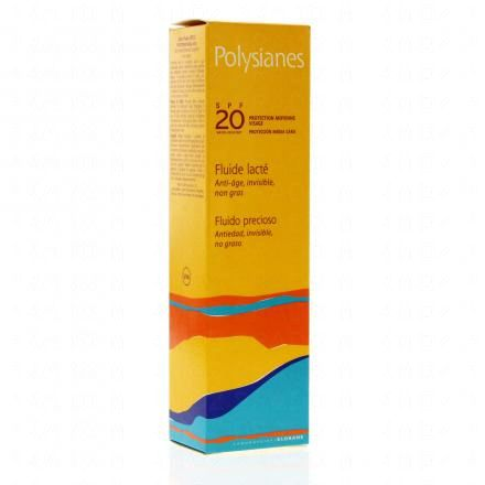 POLYSIANES Fluide lacté SPF20 tube 40ml - Illustration n°1
