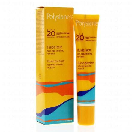 POLYSIANES Fluide lacté SPF20 tube 40ml - Illustration n°2