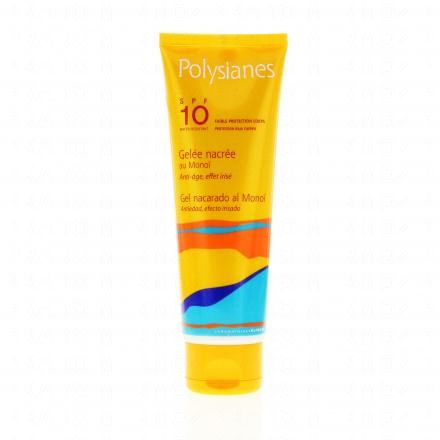 POLYSIANES Gelée nacrée SPF10 tube 125ml - Illustration n°1