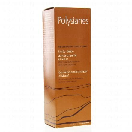 POLYSIANES Polysianes gelée autobronzante tube 100ml - Illustration n°1