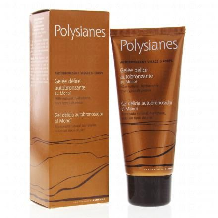 POLYSIANES Polysianes gelée autobronzante tube 100ml - Illustration n°2