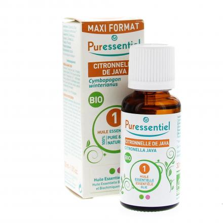 PURESSENTIEL Citronnelle de Java BIO MaxiFormat flacon 30ml - Illustration n°2