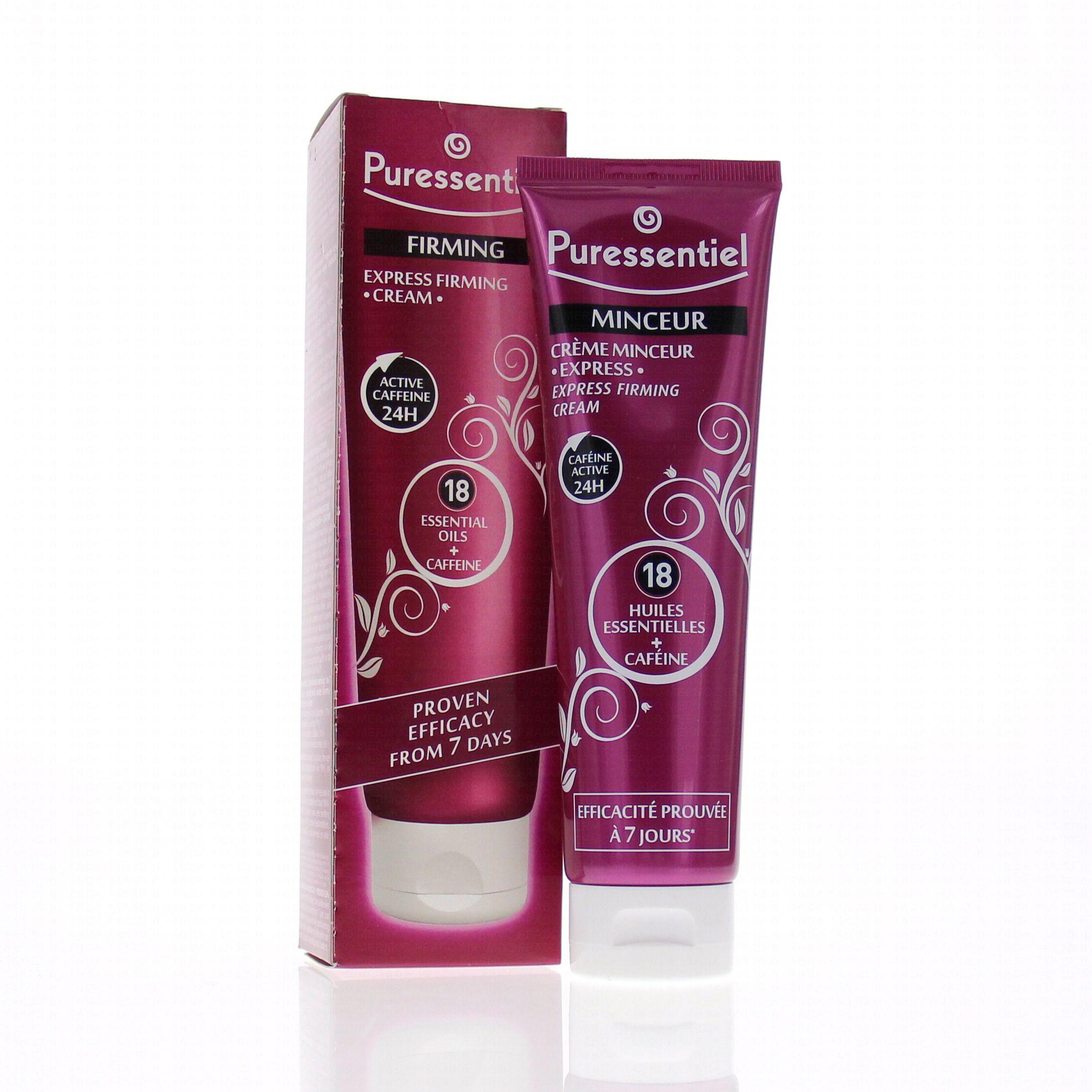 PURESSENTIEL Crème minceur express tube 150ml