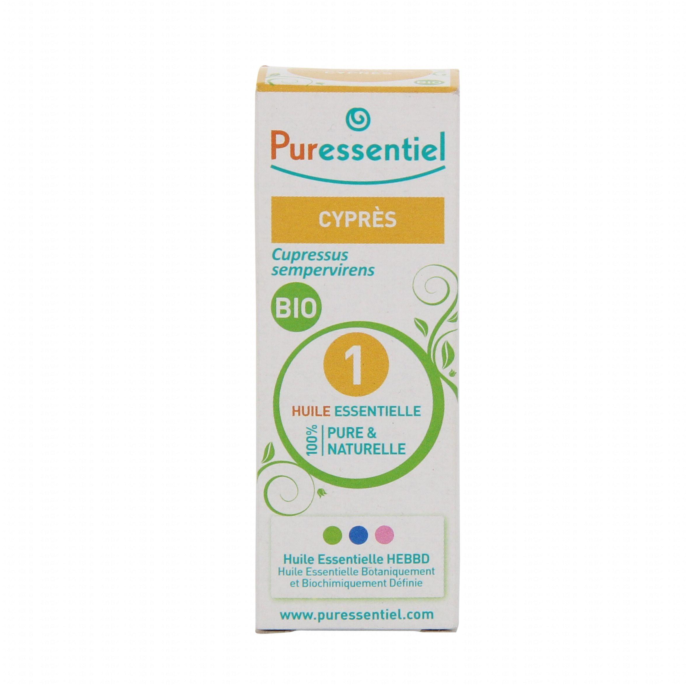 Puressentiel Huile Essentielle Bio Cyprs De Provence Flacon 10ml Biocypres Illustration N1